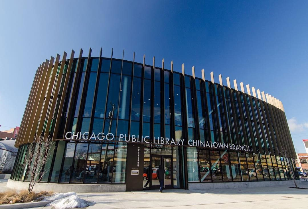 A Visit To The Chinatown Public Library Chicago Architecture Center Cac