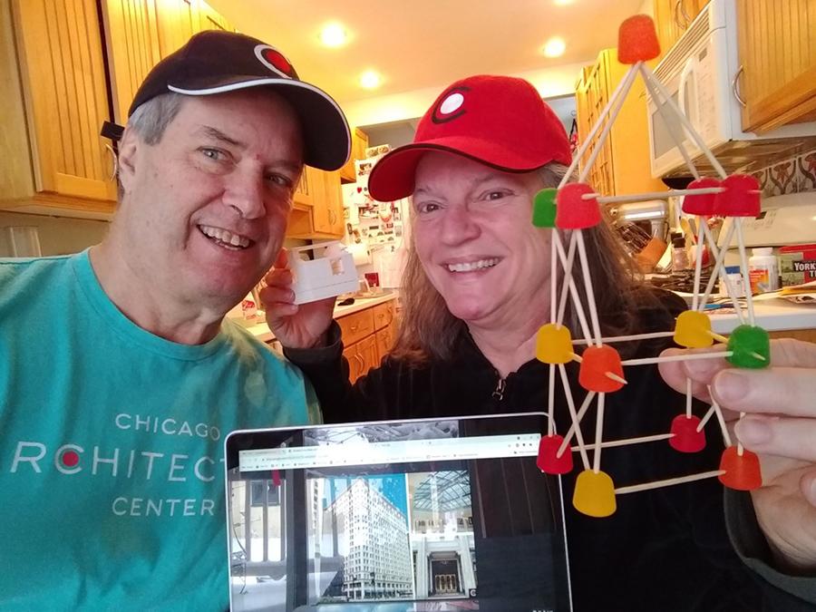 Carol Muskin and Chuck Pierret