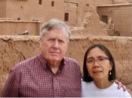 Maria Corpuz and John Hug