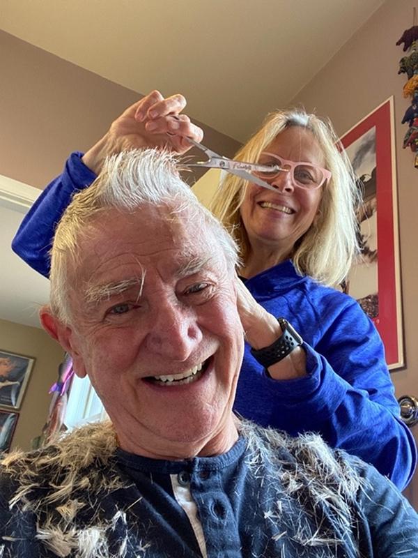 Susan Robertson and Brent Hoffmann